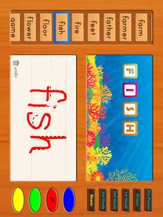 ABC Sight Words Writing Free Lite HD - for iPad ($0.00) 1. WORD FLASHCARDS - SEE the spelling, HEAR the audio, and LEARN the word.     2. WRITING WORDS - Practice spelling the words by writing the words in a trace letter-by-letter format.  Dolch Sight Words Levels to Learn at Primer and Pre-Primer Levels