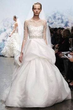 Robes de mariée classiques blanches [Photos]