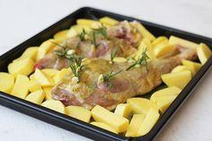 Αρνάκι στο φούρνο Meat, Chicken, Food, Essen, Meals, Yemek, Eten, Cubs