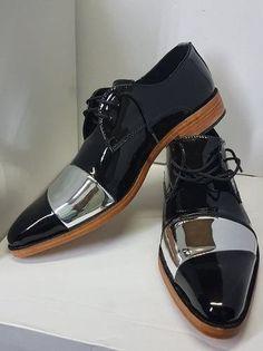 b091862b 10 mejores imágenes de Zapatos de charol hombre | Dress Shoes, Male ...