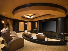 Building a Home Theater: Pictures, Options, Tips & Ideas | Home Remodeling - Ideas for Basements, Home Theaters & More | HGTV