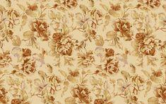 Vintage Flower Pattern Wallpaper.