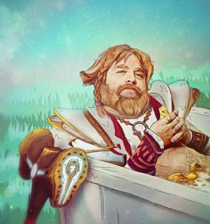 Omniknight Zach Galifianakis (Dota 2) by eZeeD.deviantart.com on @DeviantArt