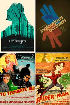 Creative fan-made movie posters as good or better than the real thing?