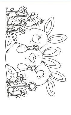 Three rabbits Transparent Clear Stamps Silicone Seals for DIY scrapbooking photo album Card Making-in Stamps from Home & Garden on AliExpress Easter Colouring, Coloring For Kids, Colouring Pages, Adult Coloring Pages, Coloring Books, Pinguin Illustration, Tampons Transparents, Fabric Stamping, Diy Scrapbook