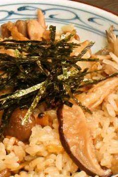 鶏の炊き込みご飯の画像