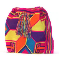 So into this design on Fab! Tribal Trends, Tapestry Crochet Patterns, Textiles, Knitted Bags, Crochet Bags, Cute Fashion, Passion For Fashion, Women's Accessories, Purses And Bags