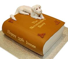 The Neverending Story Cake. Awesome, but where's the Auryn? Fancy Cakes, Cute Cakes, Beautiful Cakes, Amazing Cakes, Auryn, The Neverending Story, Book Cakes, Cake Wrecks, Love Cake
