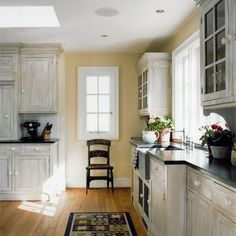 Whitewash cabinets by NikkiPW | Home Decor: Kitchens | Pinterest ...