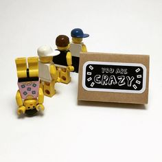 Here's to the crazy ones: we need a bit of insanity to do great things!  #thecrazyones #youarecrazy  #insanity #crazy #motivation #goodvibes #notetoself #matchbox #matchboxart #matchboxcard #paper #paperart #paperlove #papercraft #papergoods #handmadecard #greetingcards #handmade #lego #legostagram #makersvillage #handmadeisbetter #favehandmade #craftsposure #etsyscout #handmadecurator #smallisbeautiful #miniature #etsy #canyi
