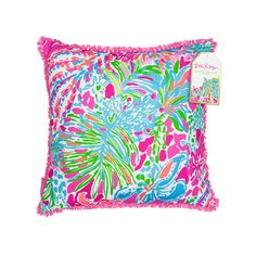 Lilly Pulitzer Pillow - Spot Ya by Lilly Pulitzer from THE LUCKY KNOT - 1