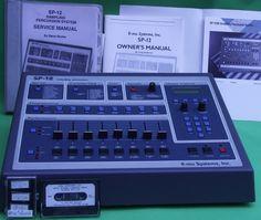 Classic Machine, Emu's SP-12 Music Recording Equipment, Recorder Music, Drum Machine, Audio Sound, Sound Effects, Sound Waves, Percussion, Musical Instruments, Drums