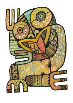 Maori Symbols, Maori Designs, Wall Art Wallpaper, New Zealand Art, Jr Art, Maori Art, Kiwiana, Tropical Art, Art Icon