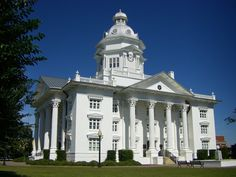 pictures of Homerville, GA Courthouse -