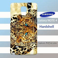 Blue Eyes Leopard Samsung Galaxy Note 4 Case Cover