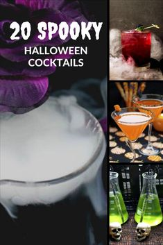 Looking for some wonderful Halloween drinks for your spooky party? Check out these 20 Spooky Halloween Cocktails here! #Halloween #Halloweencocktail #Halloweendrink #DIYHalloween #Halloweenparty Best Dessert Recipes, Sweet Desserts, Coffee Recipes, Drink Recipes, Yummy Recipes, Yummy Food, Cute Halloween Food, Diy Halloween Decorations, Spooky Halloween