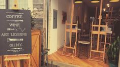 Definitely doing this again until my entire house is filled with painted pictures by yours truly  #paint#fun#art#workshop#artsy#painting#wetcolouring#colours#fun#saturday#toronto#eastside#gerrardst#somethingdifferent#paintcabin#photo#picoftheday#instapic#cool#woodwork de macemariposa