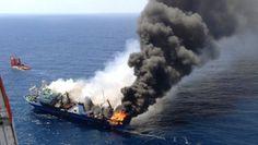 Incubo disastro ambientale alle Canarie, scia nera di 12 km - Yahoo Notizie Italia