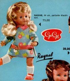 PAR AMOUR DES POUPEES :: Poupées Gégé -Patricia-Carine-Patty-Caroline-Nadine-Caline- Flic et Floc Catalogue 1971