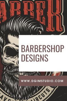 Download Barbershop vector designs on www.dgimstudio.com. 100% vector, editable text. Perfect for different barbershop projects, apparel designs, etc. #barbershop #skull #skullart #beard #vector #vectorillustration #design Barber Apron, Barber Razor, Barbershop Design, Salon Interior Design, Monochrome Fashion, Male Hands, Dark Backgrounds, Apparel Design, Trendy Hairstyles