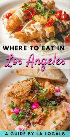A list of the best places to eat in LA (from DTLA to West LA & the Valley), full of flavor and vegetarian, vegan, and pescatarian options for your Los Angeles trip, including Mexican, Indian, Indonesian, Filipino, Vietnamese, and Ethiopian Los Angeles restaurants. Looking for what to eat in LA? We know exactly where to eat in LA, and which LA restaurants you can't miss. eat LA - eat Los Angeles - LA food trucks - LA desserts - Los Angeles desserts - downtown LA foodie Food Travel, Travel Pics, Travel Articles, Travel Info, Usa Travel, Travel Guides, World Recipes, Wine Recipes, Indian Food Recipes