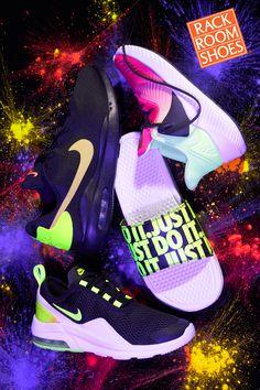 The longtime leader of athletic trends. Shop Nike at Rack Room Shoes. Sock Shoes, Vans Shoes, Shoe Boots, Shoes Sneakers, Creative Shoes, Unique Shoes, Flat Lace Up Shoes, Air Jordan Sneakers, Custom Shoes