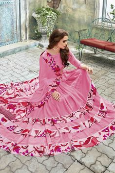 729bebb6b3b21 Georgette And Silk Saree In Baby Pink Colour Product Code   SR0496648 Price    Rs1