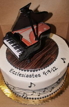 Baby Grand and Cake by Alliance Bakery, via Flickr