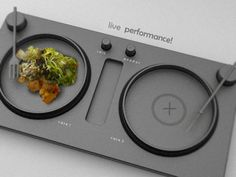 turntable dinner tray