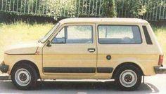 Fiat 126 Break Fiat 850, Fiat Abarth, Fiat 500 Pop, Fiat Cars, Shooting Brake, Unique Cars, Small Cars, Bugatti Veyron, Station Wagon
