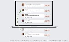 Exemplo do algoritmo novo do facebook | Indiga