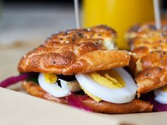 Sandwichbrød Lchf, Smoothies, French Toast, Bacon, Sandwiches, Inspire, Snacks, Eat, Breakfast