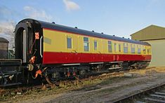 The Lincolnshire Wolds Railway have completed the restoration of a rare BSK coach. Visit Santa, Train Art, Stationary Set, British Rail, Rolling Stock, Train Journey, Train Tracks, Mk1, Coaches
