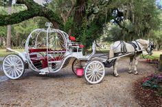Cinderella coach, Jekyll Island, GA