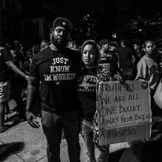 The Story Behind a Viral Ferguson Protest Sign