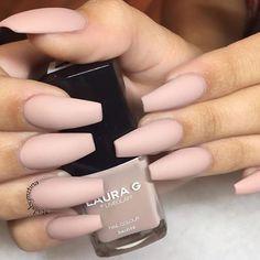 @nailsbymztina #nails #matte