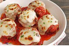 Meatballs alla Parmigiana (Gluten Free) Low Carb Meatballs alla Parmigiana (Gluten Free) - I Breathe. I'm Hungry.Low Carb Meatballs alla Parmigiana (Gluten Free) - I Breathe. I'm Hungry. Bariatric Recipes, Low Carb Recipes, Cooking Recipes, Healthy Recipes, Bariatric Eating, Lunch Recipes, Dinner Recipes, Weeknight Recipes, Bariatric Surgery