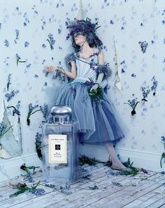 Fresh bluebell & clove with Lily of the valley, eglantine & jasmine in Wild Bluebell Jo Malone