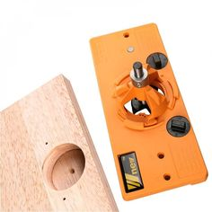 Concealed Cup Style Hinge Jig Hole Boring Drill Guide, free shipping option to most countries worldwide. For best shopping experience visit us, trainedtools.com Dowel Jig, Wood Cutter, Drill Guide, Chisel Set, Drill Set, Concealed Hinges, Diy Supplies, Diy Tools, Hand Tools