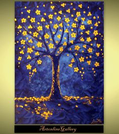 Tree Of Life Painting 60 Off Large Size by ArtonlineGallery