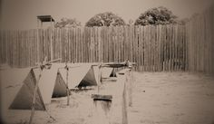 Confederate POW camp at Andersonville in Georgia (photo of National Historical Site, 2012)
