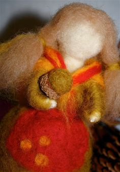 Moment to Moment: A woolen autumn creation
