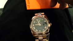 ROLEX DAY DATE REPLICA REAL Sapphire crystal test