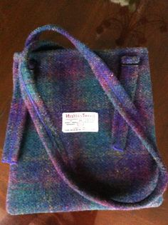 Harris Tweed messenger purse bag made in Scotland by Scotswhahae, $65.00
