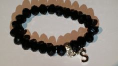 Beaded personalised bracelet available in 3 by MooiCollectionUK