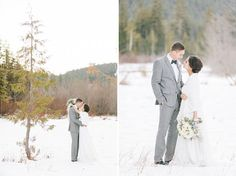 Winter Inspiration - Winter Wedding Photos by: http://jenfujphotography.com/ Florals by: http://jenfujphotography.com/