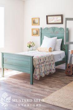 57 ideas farmhouse bedroom furniture miss mustard seeds for 2019 Decor, Home Bedroom, Farmhouse Bedroom Furniture, Woodworking Projects Furniture, Furniture, Cottage Bed, Mustard Bedding, Home Decor, Bedroom Furniture