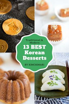 13 Best Korean Desserts – from traditional to modern including most popular street foods like hotteok and bungeoppang. Thai Street Food, Japanese Street Food, Korean Street Food, Asian Desserts, Köstliche Desserts, Delicious Desserts, Dessert Recipes, Yummy Food, Healthy Food