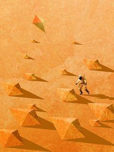 Quadro Pipas em Marte