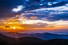 East Fork Overlook Sunrise #1